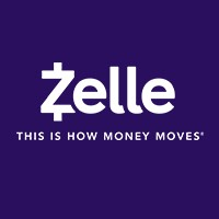 Purple Zelle logo. Zelle - This is how money moves